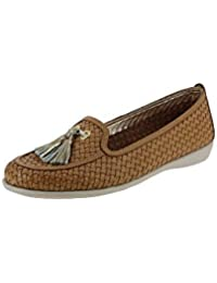 The Flexx Calzature Mocassino Donna A103-24 River+titan Cognac-Gold Pe17 NZc1VbGrX