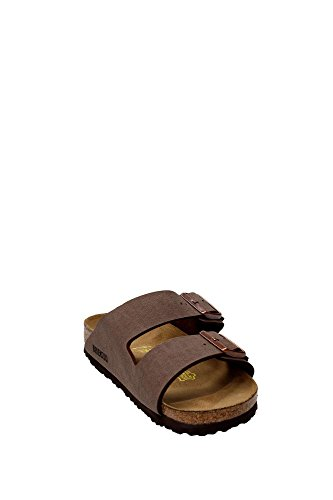 Birkenstock Classic Arizona Birko-Flor Unisex-Erwachsene Pantoletten Brun