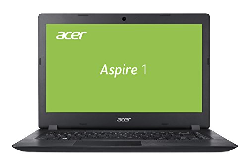 Acer Aspire 1 (A114-31-C4TY) 35,6 cm (14 Zoll HD matt) Multimedia Laptop (Intel Celeron N3450, 4 GB RAM, 32 GB eMMC, Intel HD, HDMI, Win 10 im S Modus) schwarz