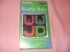 8 WWJD Latch Hook Kit by Krafty Kids ()