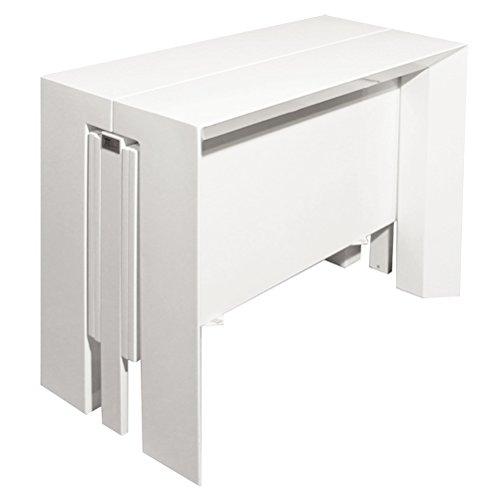 RR Design – Mesa Consola Lacado Blanco Brillante Consola ...