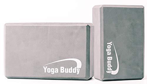 Yoga-Rad-Block Gurt-Set – Yoga-Ausrüstung und Zubehör, Yoga-Kit, Rückenrolle, Yoga-Rad, Yoga-Blöcke, 2 Stück, Yoga-Roller, Stretch-it Out-Gurt, Yogablock 2 Stück