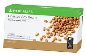 Roasted Soy Beans - High In Protein - Pack of 12