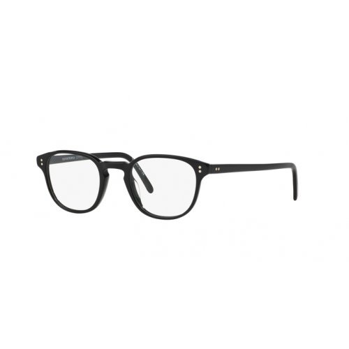 Oliver Peoples - FAIRMONT OV 5219, Rechteckig, Acetat, Herrenbrillen, BLACK ANTIQUE PEWTER(1005), 47/21/145