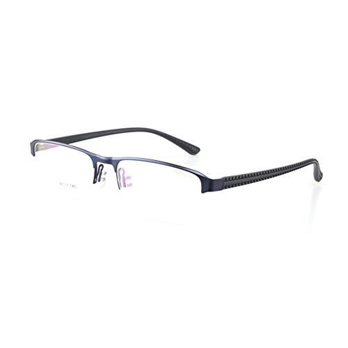 TIFEIYA Übergang photochrome Lesebrille für Mann, Leichtmetallrahmen, UV400 Farsighted Sunglasses +1,0 bis +4,0,Blue,+2.0
