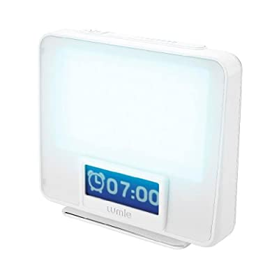 Lumie Zest - Combination Wake-up Light and SAD Light Therapy from LUMIE