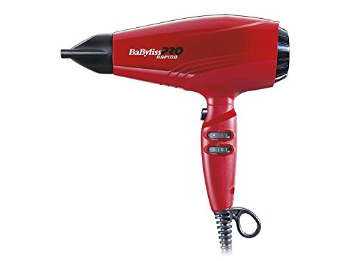 babyliss pro hairdryer rapido red bab7000ire - 318 2BEd4SjmL - BaByliss Pro Hairdryer Rapido Red BAB7000IRE