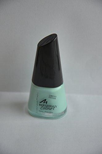 Manhattan Limited Edition Birthday Colours Nail Polish Nagellack Nr. 016 Lovely Mint Farbe: Türkis...