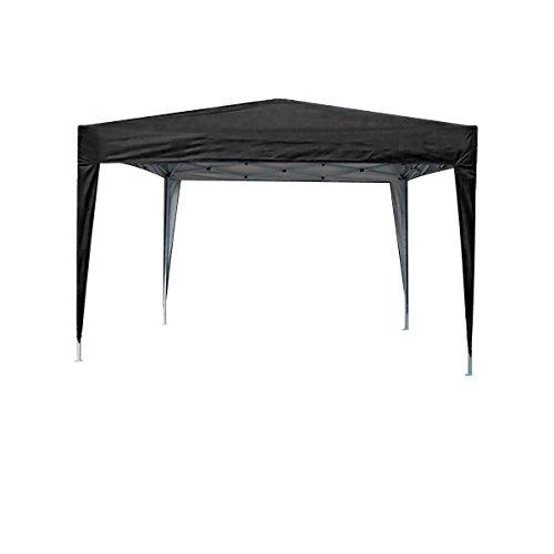 MCC® Tonnelle Pop-up étanche 3 x 3 m Noir