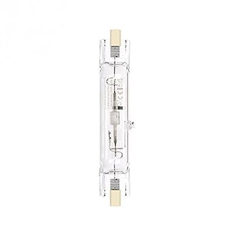 GE 38692 Lampe halogène brûleur céramique métallique Blanc couleur naturelle CMH150/TD/UVC/942/RX7S 942-4200K