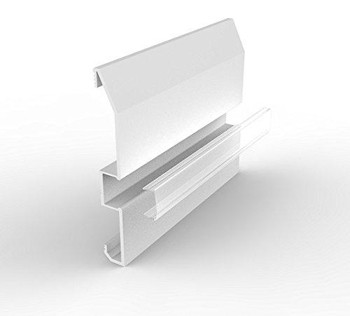 Marc LED LTD SB11m/1000mm zum überstreichen Aluminium LED skiritng Board mit Transparent Diffusor Nur -