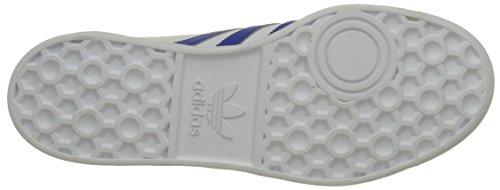adidas Originals Herren Hamburg Shoes Sneaker Weiß (White/bold Blue/gold Metalic)