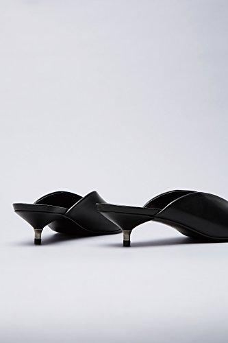 Find Sabot Talon Chaton Femme Noir (noir)