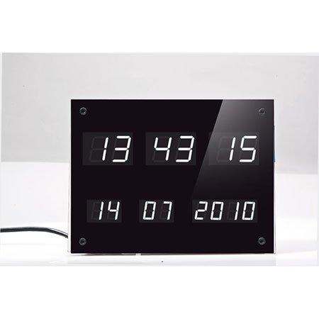 ELV DCF-Uhr mit LED-Anzeigen DCF-7SEG, Komplettbausatz (ohne DCF-Empfangsmodul und
