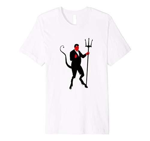 Halloween gruseliges Teufel Shirt für die Halloween Party