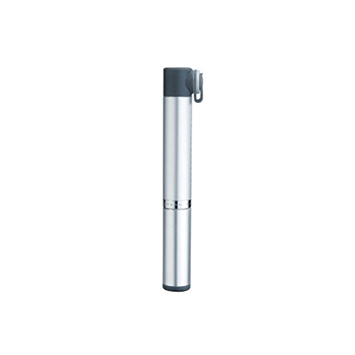 TOPEAK Micro Rocket Aluminium Rennrad Luftpumpe Mini Fahrrad 11 Bar Presta Ventil Handpumpe, 15700080