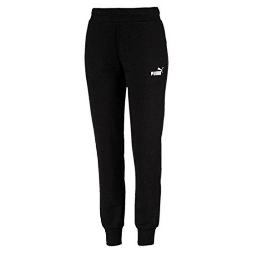 Puma Damen ESS Sweat Pants TR cl Hose, Cotton Black, M