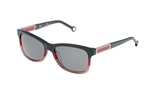 Carolina herrera she594550at1, occhiali da sole donna, (multicolor), 55