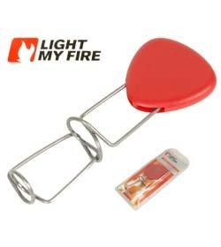 Light my Fire ausziehbare Feuergabel Grillgabel Grandpa´s Fire Fork rot