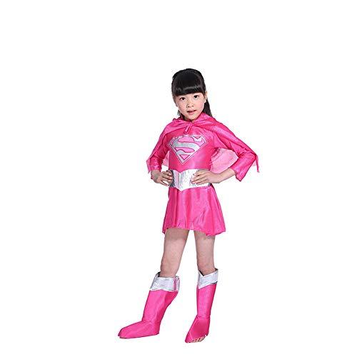 KAKAFASHION Halloween-Kostüm, Superman-Serie, 1 Stück + Schuhe, 2 -