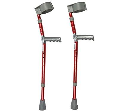 Ability Superstore Red Children's Crutches