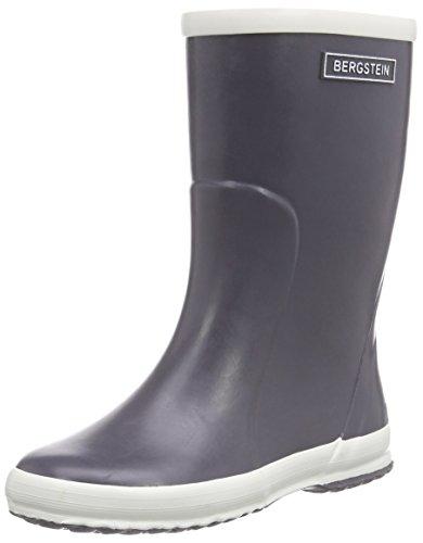 Bergstein Bn Rainbootdg, Bottes en caoutchouc de hauteur moyenne, doublure froide mixte enfant Gris - Gris foncé