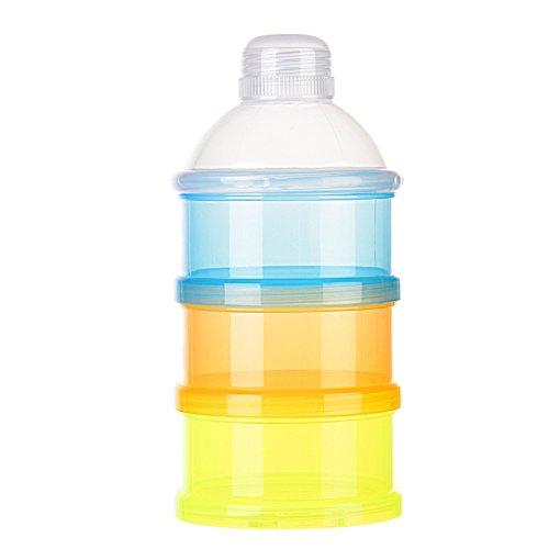 Formula Dispenser Non-Spill Tragbare Baby Milchpulver Box Dispenser Storage Snack Container - Storage Dispenser