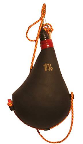 Auténtica bota de vino artesana elaborada con piel de cabra e interior revestido de pez - 1,5 litros -