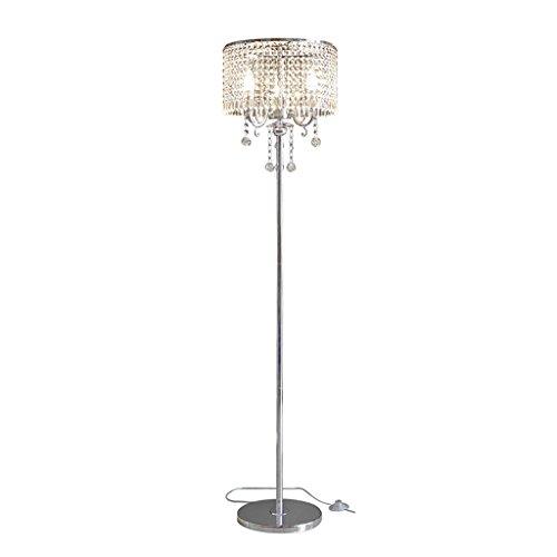 MMM- Stehlampe, Europäischen Luxuriösen Wohnzimmer Schlafzimmer Studie Romantische Kugel Kristall Anhänger Nachttischlampe Lampe Körper Kristall Lampenschirm Stehlampe (Anhänger Deckenfluter Ist)