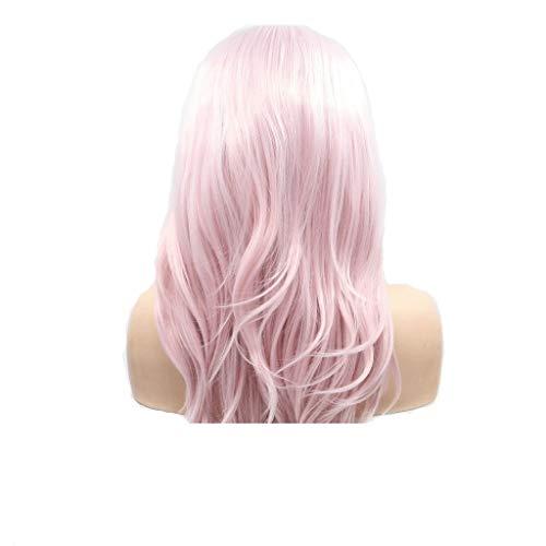 Hot Pink Perücke Kostüm - Frauen Perücke Beauty Pink Long