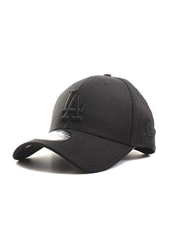 New Era League Essential Cap, Black/Black, XS/S (Dodger Stoff)