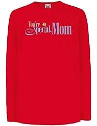 cf6bbebf69c3a lepni.me T-Shirt pour Enfants avec des Manches Longues Vous Êtes spéciale