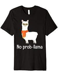 No Problama Llama T-shirt - Lustiges & süßes Lama Design Tee