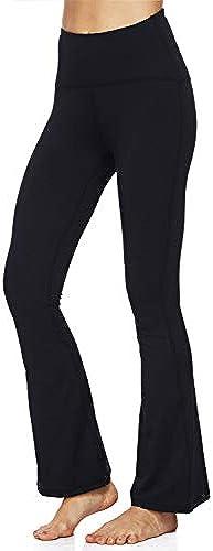 Dasbayla Damen Stiefel-Cut Leggings