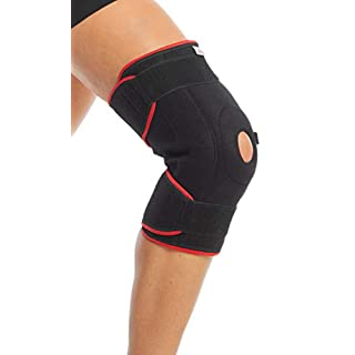 ArmoLine Knee Patella Support Brace for Arthritis,Meniscus Pain, Sports Injuries with Adjustable Straps