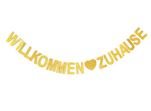 ause Banner für Familie Party Dekoration Photo Booth Props Welcome Home banner ()