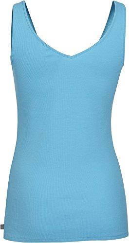 Under Armour Damen Fitness T-Shirt und Tank UA Double Threat Island Blue