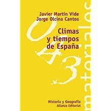 Tiempos y climas de España (El Libro Universitario - Materiales)