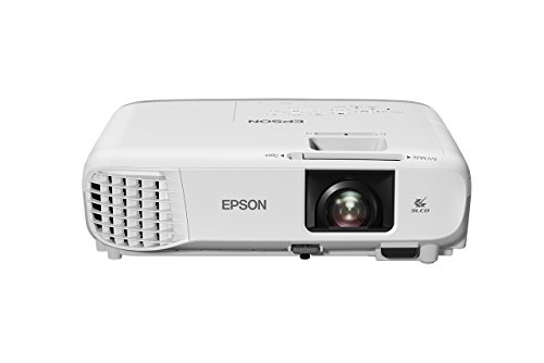 Epson EB-X39 Compact Stylish LCD Projector - White