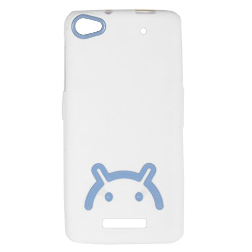 iCandy™ Soft TPU Back Cover For Micromax Canvas 4 Plus A315 - White