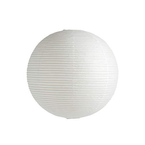 Rice Paper Shade Lampenschirm Ø60cm, klassisches weiß Papier Eisenstruktur ohne Aufhängung