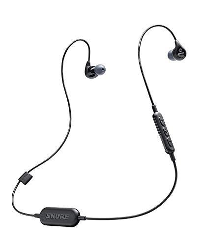 Shure SE112.K-BT1-EFS Bluetooth In-Ear Kopfhörer mit passiver Geräuschunterdrückung für iOS & Android - Ohrhörer für reichhaltigen Klang - Schwarz thumbnail