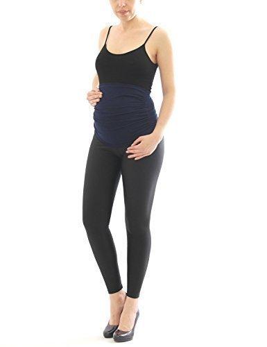 Ceinture de ventre Fédérale de ventre Bande Bande de cigare Grossesse ceinture Extension de pantalon gris foncé
