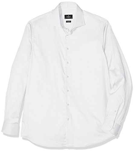 Hackett London Hkt Royal Twill Bc, Chemise Business Homme Blanc (White 800)