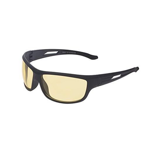 Vast Night Vision Sports Unisex Sunglasses (YHJ-60-Yellow lens)