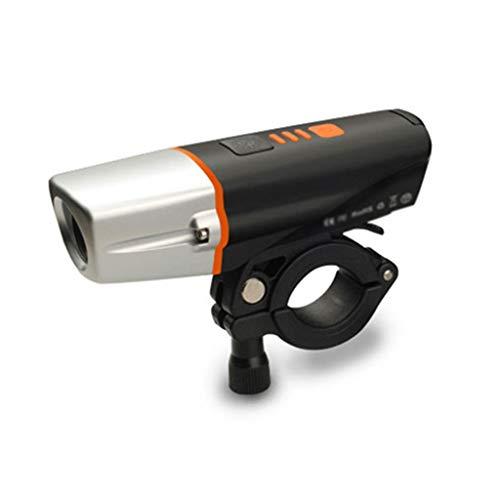 TRonin Intelligente Induktion Fahrradbeleuchtung, 2200mAH 400 Lumen Frontscheinwerfer Taschenlampe mit 6 Modi IP64 wasserdichte USB aufladbare Mountain Bike Licht - Sicherheit for Nacht