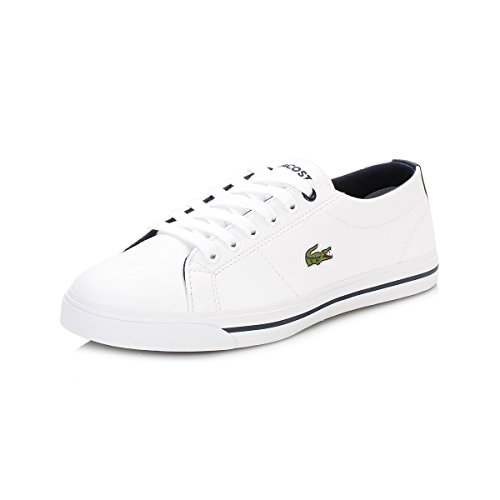 Lacoste Junior Bianco/Marina Marcel 117 1 CAJ Sneaker-UK 4