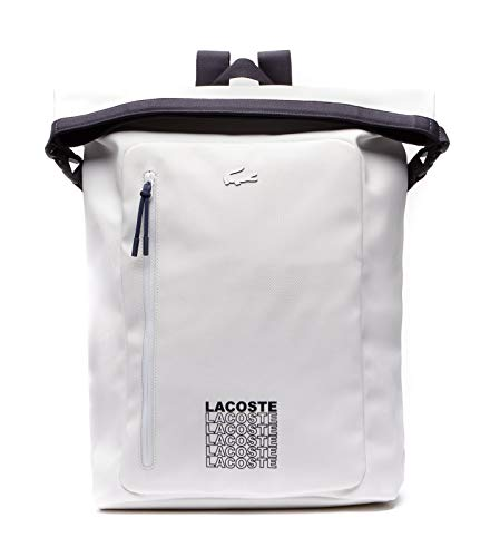 Lacoste L.12.12 Concept Fantaisie Roll Backpack White Peacoat