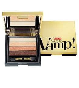 Pupa Vamp! Palette Eyeshadow 004 Pure Gold - Pupa Augen-palette