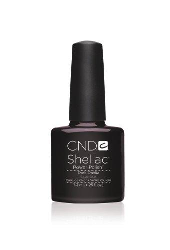 CND Shellac UV Gel Vernis - DARK DAHLIA - Forbidden Collection Automne 2013